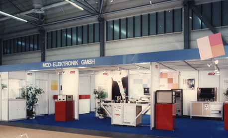 1987 - Messestand PRODUCTRONICA